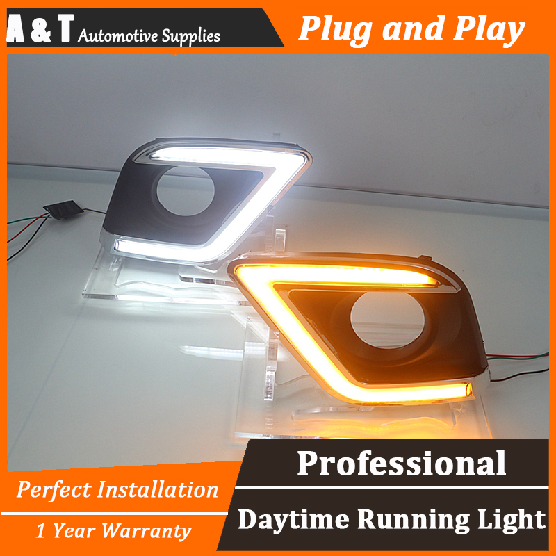 car styling For Toyota Hilux LED DRL For Toyota Hilux led fog lamps led daytime running lights High brightness guide LED DRL car styling 2013 2014 for toyota hilux led drl for hilux led fog lamps daytime running light high brightness guide led drl