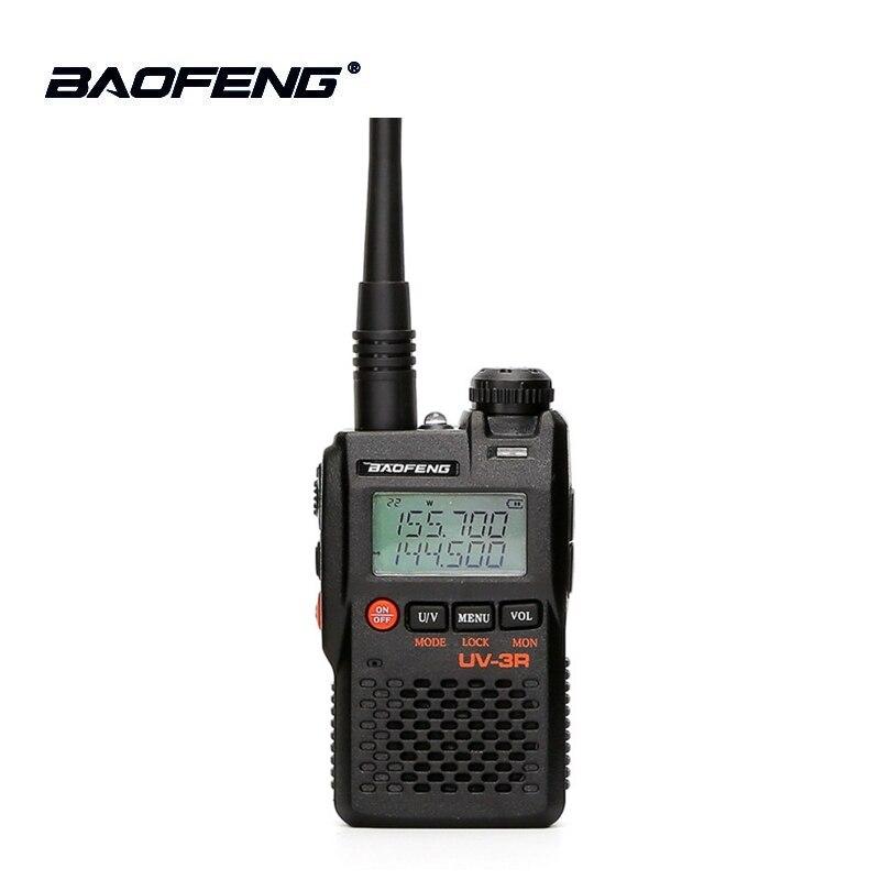100% Originale Best Prezzo Baofeng UV-3R Mini Walkie Talkie Dual Band VHF UHF Portatile UV3R Two Way Radio Ham Hf ricetrasmettitore UV 3R