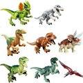 Generic Jurassic Park Dinosaur Building Blocks Abs Package Set (8 Piece), 7cm