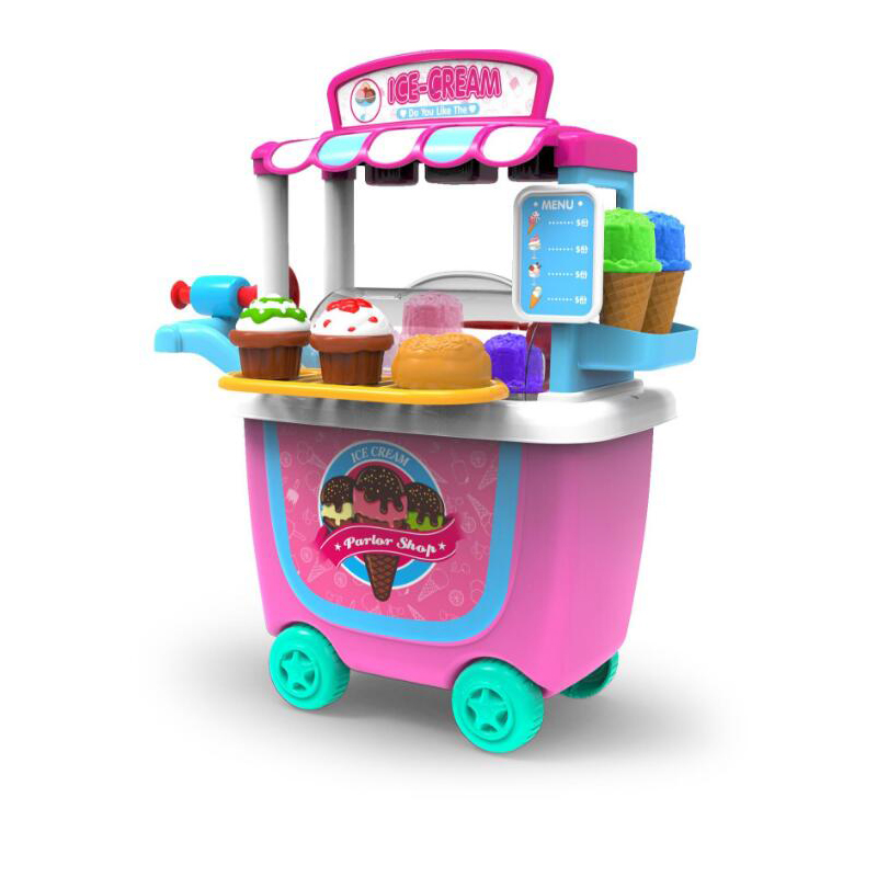 Fornitura 7 Stili Per Bambini Giochi Di Imitazione Giocattoli Da Cucina Barbecue Cibo Cosmetici Casa Un Gioco Da Ragazzi Trolley Giocattoli Per I Ragazzi Della Ragazza Regalo