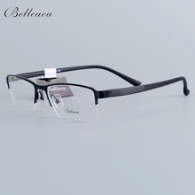 Bellcaca Spectacle Frame Men Eyeglasses Nerd Computer Optical Prescription Clear Lens Glasses For Male Eyewear 16001