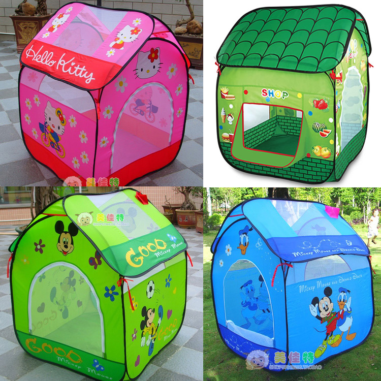 f919192f1e0 Ultralarge Baby Play Tent For Kids Play Tent House Children Toys Tent Indoor  Outdoor Baby Play House Child Brithday Gift ZP35-in Toy Tents from Toys ...