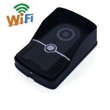 Freeship Wireless Doorbell Camera WiFi Door Intercom Wifi Doorbell With 1 Mega Pixel Camera Video Doorphone Door Intercom
