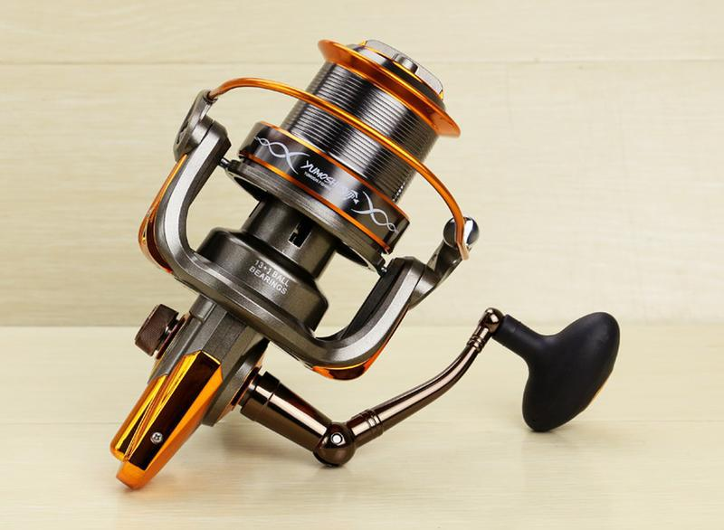 AT8000 9000 big distant wheel 13+1BB spinning telescopic fishing reels steering Aluminum Alloy wire cup fish lures tackle gear our distant cousins
