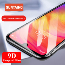Suntaiho 9D Tempered Glass For Xiaomi Redmi note 7 5 Pro Redmi 6A Redmi 4X Global Version note 6 pro Screen Protector Glass Film