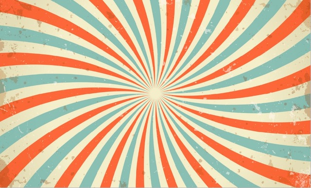 7x5FT Carnival Vintage Circus Stripes Pattern Custom Photo Background Studio Backdrop Vinyl 220cm X 150cm