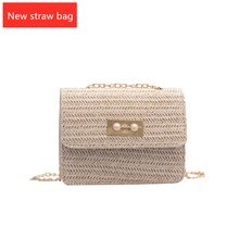 Fashion Casual Korean Version of The Woven Shoulder Bag Designer Handbag Quality 2019 Summer New Women's Bag все цены