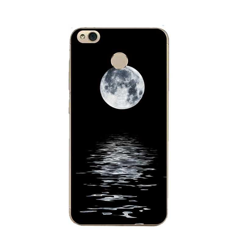 Tancerz miękkie jasne futerał na telefon TPU obudowa do Xiaomi redmi 4x 4a note5a note4x 5S 5S mi6 note3 marmuru księżyc drukowane pokrywa darmowa wysyłka