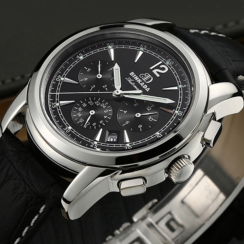 Sport Mechanical Watches For Men Automatic Full Steel Military Watch New Mens Calendar Day Wristwatch Relogio Mecanico men full steel automatic mechanical watches top brand binger luxury clock men wristwatch military watches men calendar week