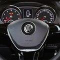 For VW Passta Jetta Bora Golf 6 7 CC Tiguan Polo Car Steeling Wheel Ring Sticker Styling Accessory 1pc car accessories