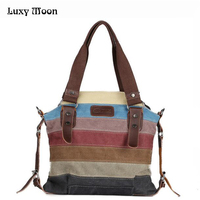 Hot 2016 Canvas Handbags Super Patchwork Women Shoulder Bags Shopping Bag Casual Patchwork K2 Totes Small