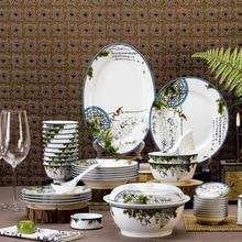 28 head Manufacturers selling advertising promotional wedding housewarming gift ceramic tableware sets free custom LOGO