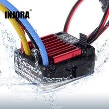 Rc 모델 자동차 quicrun 1060 60a 방수 브러쉬 esc 속도 컨트롤러 6 v/3a bec 1:10 rc 자동차 부품