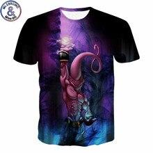 Harajuku Anime Dragon Ball Z T Shirt Men's T-shirt 3D Majin Buu Print Short Sleeve Summer Tshirt Camiseta de los Hombres