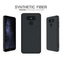 For Lg G6 Case Nillkin Military Quality Synthetic Fiber Phone Case Carbon Fiber PP Plastic Back