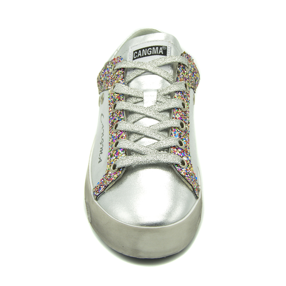 6bd02e9f5736c CANGMA nouvelle marque Sneakers femmes chaussures en cuir verni ...