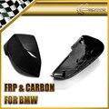 Auto Styling Für BMW 2014 + F10 Carbon Fiber Spiegel Abdeckung Ersatz Glänzend Fibre Seite Coupe Racing Auto Körper Kit zubehör