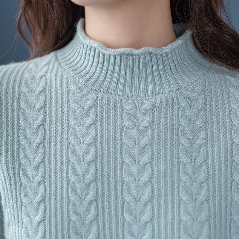 Hot Sale 3Colors Pullover Women 100 Pure Cashmere Knitted Sweater Woman Soft High Quality Jumper Ladies