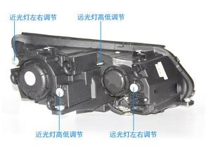 Image 2 - Car Styling for Tiguan Headlight 2009~2012/2013~2015 Tiguan LED Head light LED DRL Bi Xenon Lens Headlight High Low Beam Parking