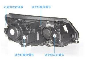 Image 2 - Автомобильный Стайлинг для Tiguan, фасветильник головного света 2009 ~ 2012/2013 ~ 2015 Tiguan светодиодный светильник фасветодиодный, ДХО, биксеноновые линзы, фасветильник дальнего и ближнего света для парковки