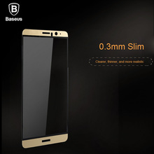 Baseus 0.3mm Silk Screen Printed Tempered Glass Film For Huawei Mate 9