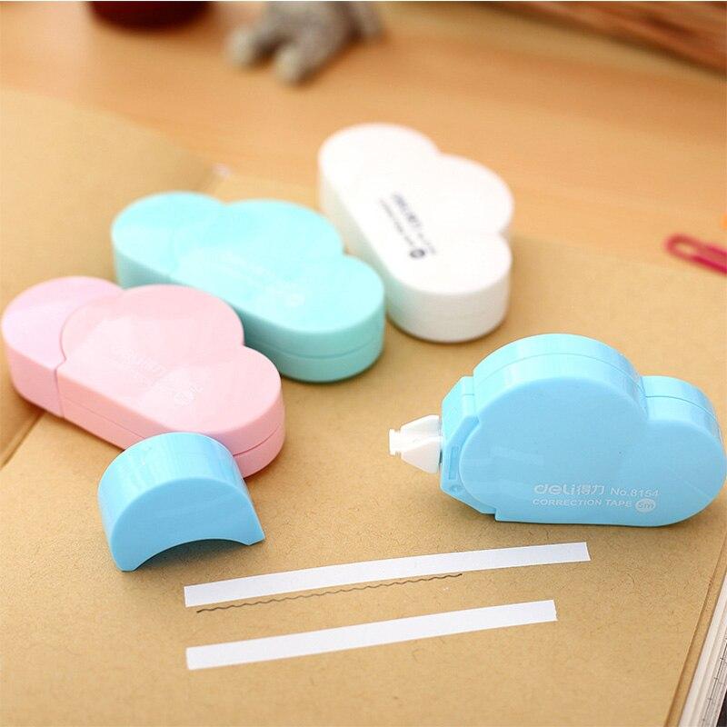 5M length Clouds Shape Correction Tape Kawaii Candy Colors s