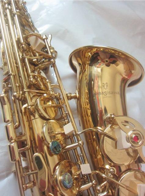 New Musical Japan Yanagisawa A-992 High quality professional Alto Saxophone fast  Tune E Super play Sax with the Hard Box case