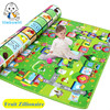 Double Side Fruit Zillionaire Game Carpet Baby Crawling Mat Soft Child Game Mat Indoor And Outdoor