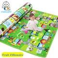 Уполномоченный Подлинный Maboshi Фрукты Zillionaire Игры ковров ребенка ползать коврик ребенок игры коврик крытый и открытый ковер ребенка ковер