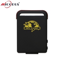 Car GPS Tracker XEXUN TK102-2 Vehicle Tracking Locator Personal 1000MAh Battery Around 120 Hours Standby Life Time Free Web APP