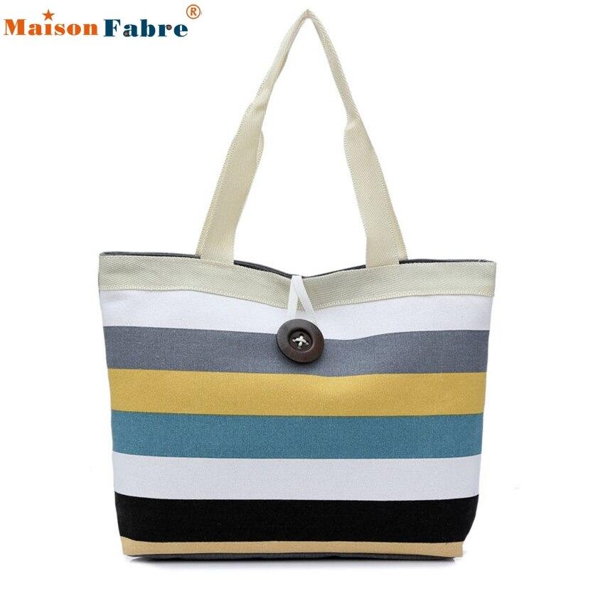 High Quality Fashion Lady Shopping Handbag Shoulder Canvas Bag Tote Purse Messen