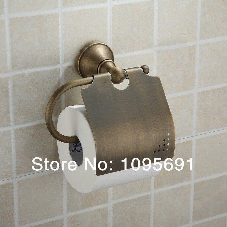 Maide brass paper box roll holder toilet paper holder tissue box bathroom accessories in paper - Bathroom accessories toilet paper holders ...
