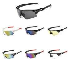 c1a9141596 Deporte al aire libre gafas de ciclismo Unisex a prueba de viento ciclismo  gafas de sol luz impermeable bicicleta gafas UV400 bi.