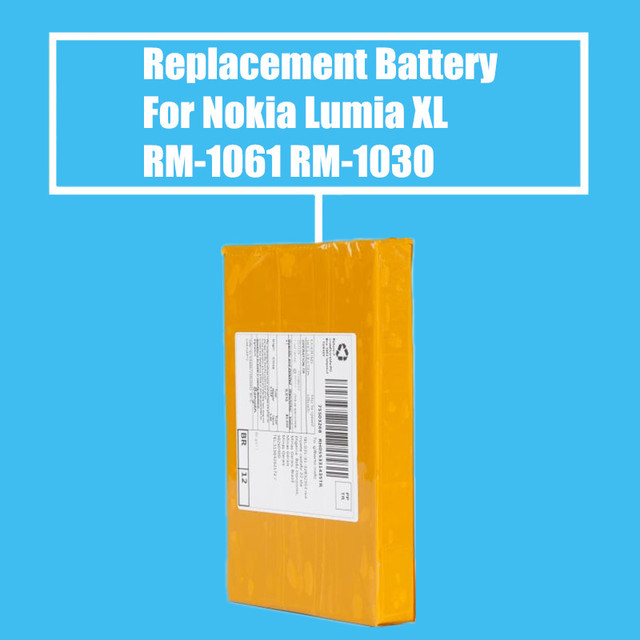 Replacement Battery 2000mah for Nokia Lumia XL/RM-1601/RM-1030/RM-1042