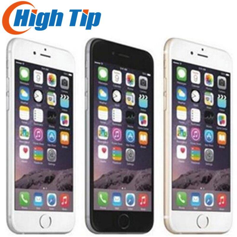 Разблокирована оригинальный Apple iPhone 6 Plus LTE 5,5 ips 8MP двухъядерный мобильный т ...