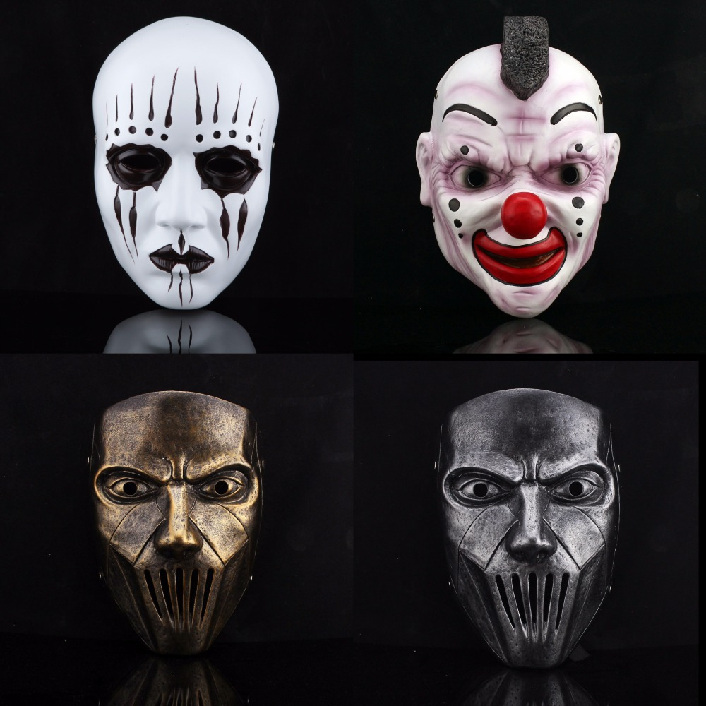Hot sales terror halloween slipknot mask joey jordison - Mascara de terror ...