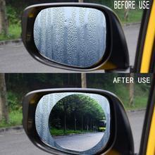 Car Anti Water Mist Film Anti Fog Nano Coating Rainproof Rearview Mirror Window Protective Film Aug6 Drop Ship