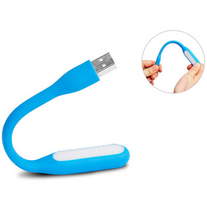 USB Light Mini LED Lamp Bendable Portable for Laptop PC Computer Flexible Foldable USB LED Lamp Power Bank Computer Notebook