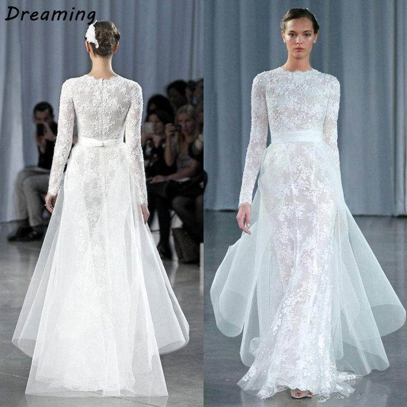Online buy wholesale modest bridal gown from china modest for Modest wedding dresses with long sleeves