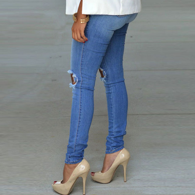 High Quality Skinny Stretch Pencil Jeans 1