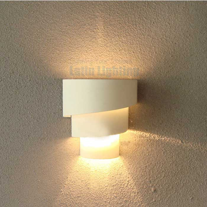 Fashion Modern Bedside Lamp Brief Style Wall Lamps E27 Hardware Spiral  Lampshade Lights Innovative Designer Lamp-in LED Indoor Wall Lamps from  Lights ...