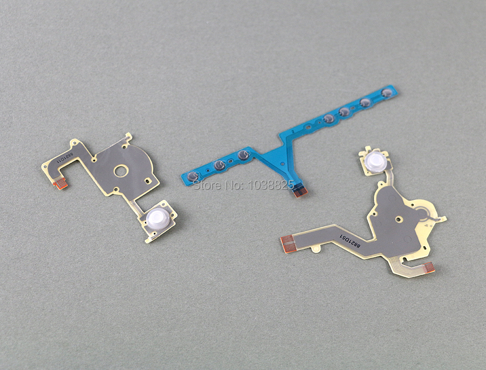 1set Replacement Direction Cross Button Left Key Volume Right Keypad Flex Cable For Sony PSP 3000 / PSP 3004 3001 3008 300X