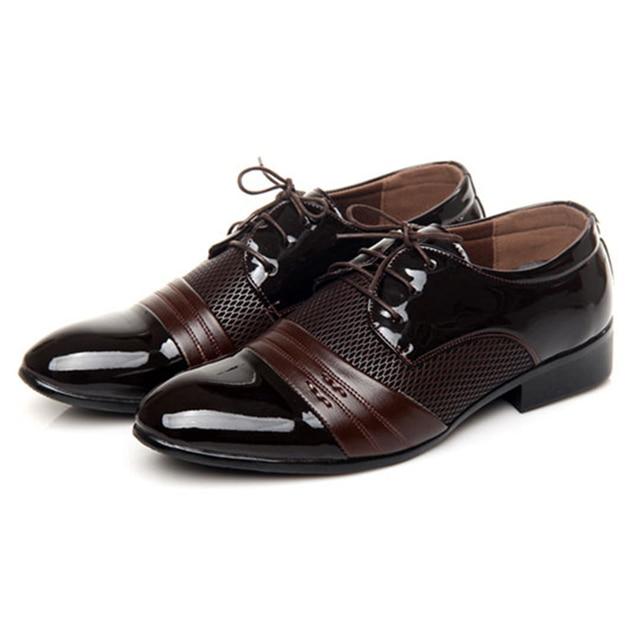 Лучшие продажи мужчины марка оксфорд обувь человек официального поста обувь мужской классический британский обуви мужская карьера обувь бесплатная доставка