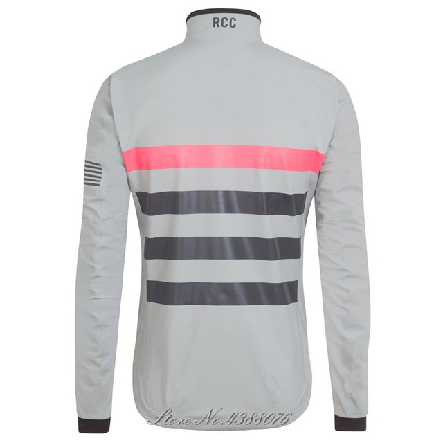 4aed1f098 2018 RCC Windproof jacket stripes pocketless pro team race cape Racing aero  CORE clothes cycling ROSA