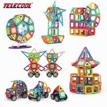 TELECOOL 89/102/149 PCS Tamanho Grande Desenhador Magnético Modelo de Blocos de Construção Educacionais Brinquedos Do Bebê Para O Presente de Aniversário