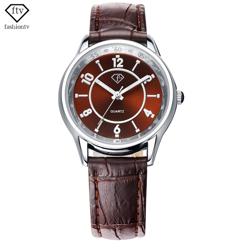 FTV Business Vogue Top Brand Watches Women Date Leisure New Arrival Watch For Women Outdoor Elegant Shock Resistant Reloj Mujer gl brand vogue 3colors jf0017