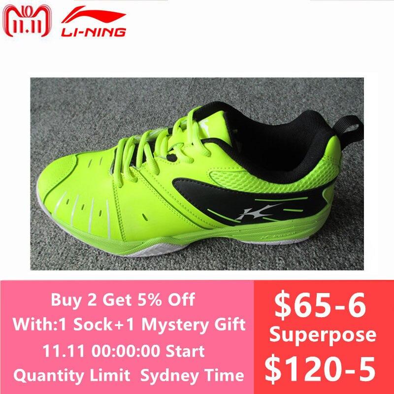Kason Men's Badminton Shoes 2017 Newest Breathable Athletic Sneakers Sports Shoe Anti-Slippery FYTM013 Fluoresce green L717OLB li ning professional badminton shoe for women cushion breathable anti slippery lining shock absorption athletic sneakers ayal024