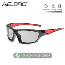 Polarized Sunglasses Mens Driving Glasses Bicycle men sport gafas ciclismo photochromic