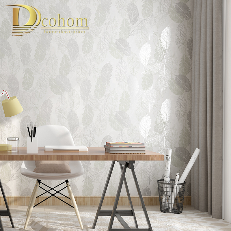 US $18.79 53% OFF|Green,cream white,Pink Vintage Retro Tropical Leaf  wallpaper for wall Bedroom Living Room Background Wall Paper Roll Home  Decor-in ...