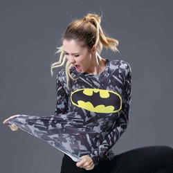 2017 new women girls compression t shirts long sleeve batman 3d print tee female body weight.jpg 250x250